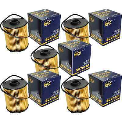 5x SCT Kraftstofffilter Fuel Filter SC 7014 P