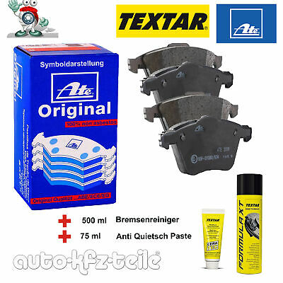 ATE Bremsbelagsatz + Ceratec + Bremsenreiniger Opel Antara HINTEN