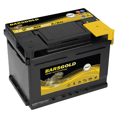 PKW Batterie 12V 65Ah 600A Bars Gold Wartungsfrei sofort einsatzbereit NEU