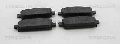 TRISCAN (8110 24041) Bremsbeläge, Bremsklötze hinten für OPEL VAUXHALL