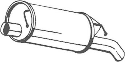 BOSAL Endschalldämpfer Auspuff Endtopf 105-137
