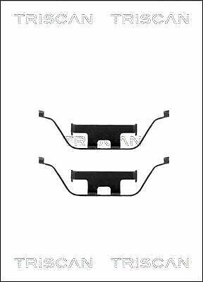 TRISCAN 8105 101602 Zubehörsatz Bremsbelag Bremsklötze für BMW LAND ROVER