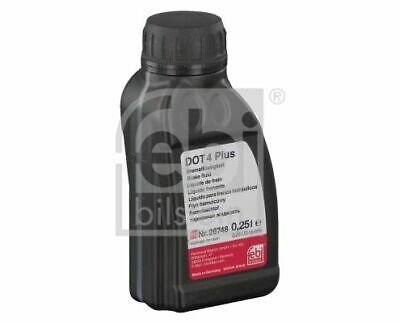 FEBI 26748 Bremsflüssigkeit ISO 4925 0,25 Liter für MERCEDES-BENZ AUDI SMART
