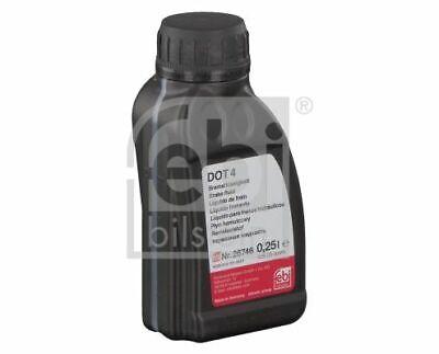 FEBI 26746 Bremsflüssigkeit DOT 4 0,25 Liter für BMW SKODA AUDI DOT 4
