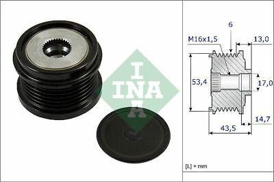 INA (535 0237 10) Freilauf Lichtmaschine, Generator für FORD MAZDA VOLVO