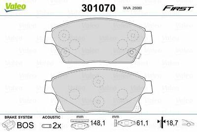 VALEO Bremsbelagsatz, Scheibenbremse 301070 für OPEL CHEVROLET VAUXHALL