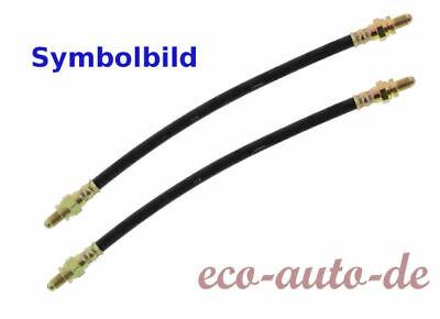 2 x FEBI Bremsschlauch HA für VW CORRADO,GOLF II,JETTA II,PASSAT,TRANSPORTER