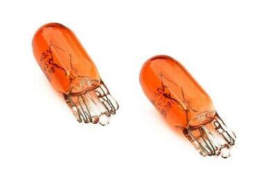 Für T10 5W 12V Seitenblinker Birnen Blinkerbirnen Glühlampen Orange Glas WY5W