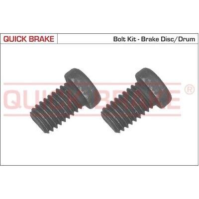 1 Schraube, Bremsscheibe QUICK BRAKE 11668K passend für BMW