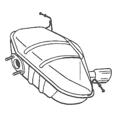 1 Endschalldämpfer BOSAL 247-413 passend für BMW