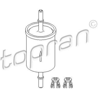 TOPRAN Original Kraftstofffilter - 201 622 - FÜR Opel Astra,Corsa,Zafira