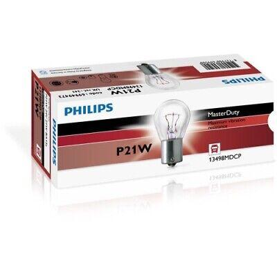 1 Glühlampe PHILIPS 13498MDCP MasterDuty passend für AEBI AUDI AUWÄRTER DAF MAN