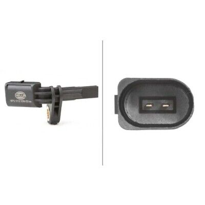1 Sensor, Raddrehzahl HELLA 6PU 012 039-021 passend für AUDI SEAT SKODA VW