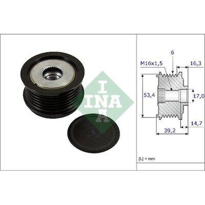 1 Generatorfreilauf INA 535 0236 10 passend für FORD MAZDA VOLVO
