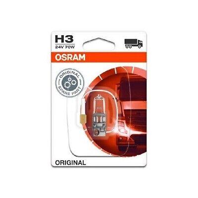 Glühlampe Glühbirne OSRAM H3 70W/24V Sockelausführung: PK22s (64156-01B)