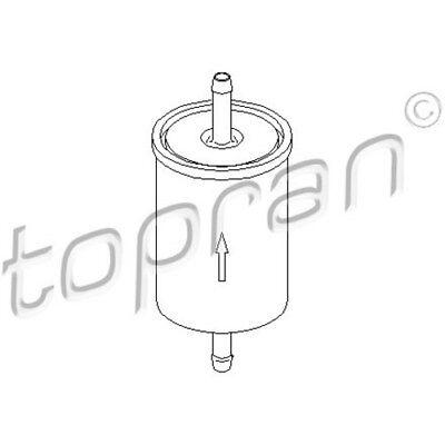 TOPRAN Original Kraftstofffilter 201 621 FÜR Opel Astra