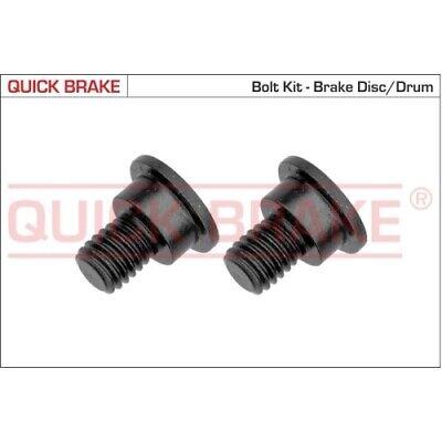 1 Schraube, Bremsscheibe QUICK BRAKE 11662K passend für BMW MINI LAND ROVER