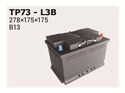 Batterie Starterbatterie Autobatterie Polar TP73