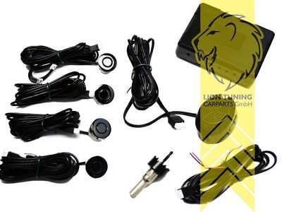 PDC mit 4 Sensoren Einparkhilfe mit Buzzer für VW Lupo Fox Eos Up! Scirocco Corr