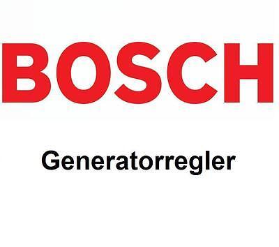 Bmw 1 E81 E87 Coupe E82 Cabrio E88 BOSCH Lichtmaschine Generatorregler 2004-
