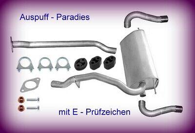 Abgasanlage Auspuff für Ford Kuga I 2.0 TDCi 100KW-120KW Bj. 03/08 - 11/12 + Kit