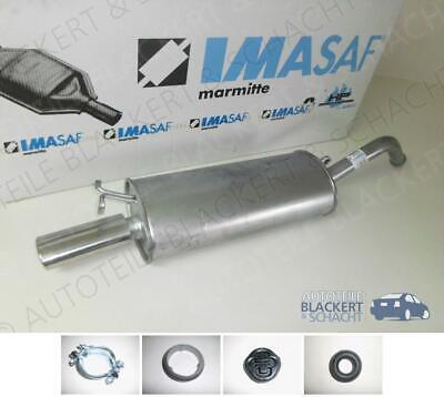 IMASAF ESD Auspuff Endtopf für Audi 100+A6+Avant 2.0+2.4D (C4) 1990-1997+Zubehör