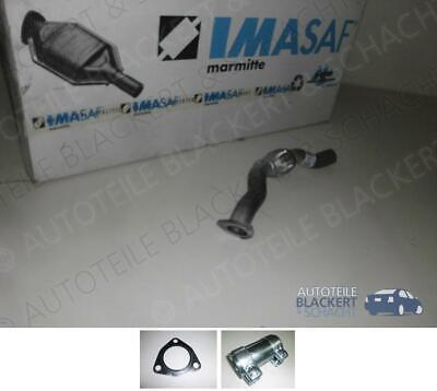 IMASAF Auspuff Flexrohr Abgasrohr für Audi A4/A6 quattro B5 C5 1.8 T Turbo+Zub.