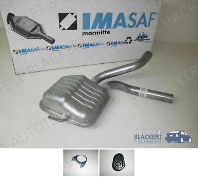 IMASAF Auspuff Mitteltopf+Zubehör für Ford Mondeo Kombi 2.5 i 24V 125KW BJ.94-00