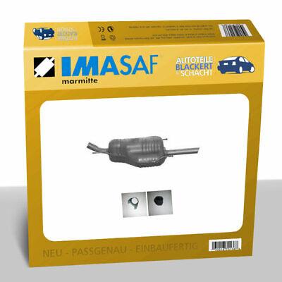 IMASAF ESD Auspuff Endtopf für Opel Astra G Stuf. 1.6/1.8 +16V 62-92KW Steck.