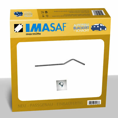 IMASAF Auspuff Mittelrohr MSD für Ford TRANSIT (72E 73E) 2.3 D 46KW bis Bj.86