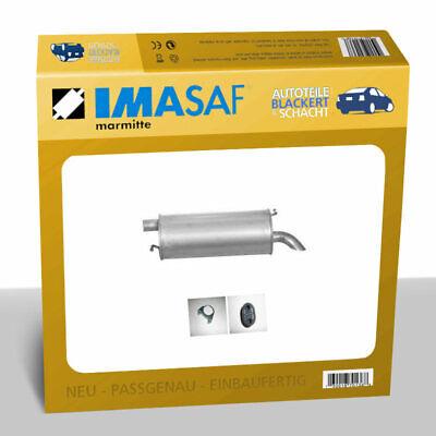 IMASAF ESD Auspuff Endtopf für VW SHARAN (7M) 2.0 85KW bis Bj. 10/95