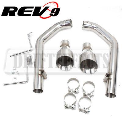 Rev9 CB-1009A Flowmaxx Auspuff Set Für Ford MUSTANG Gt 15 + Gerade Rohr System