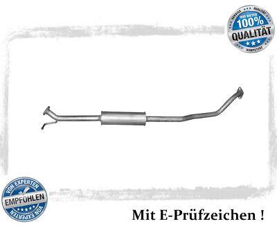 Mittelschalldämpfer Opel Agila B 1.2, Suzuki Splash 1.2 Auspuff Mitteltopf