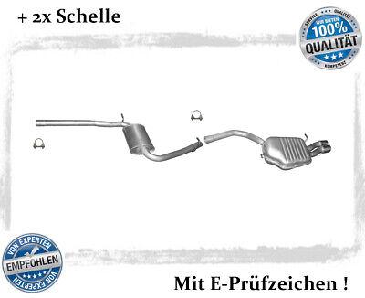 Auspuffanlage Audi A4 ( B7 ) 1.9, 2.0 TDI Stufenheck, Avant Auspuff Schelle