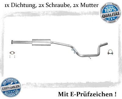 Mittelschalldämpfer Ford Mondeo 1.6 2.0 Auspuff Mitteltopf Bj.06-15 Schelle