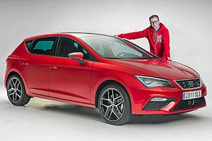 Seat Leon Facelift (2017): Sitzprobe