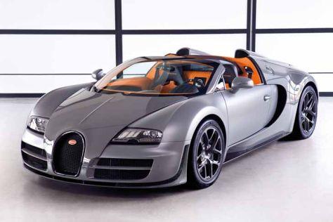 bugatti veyron grand sport vitesse: markstart - autobild.de