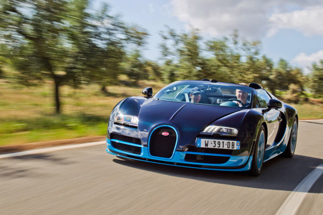 Video: Bugatti Veyron Grand Sport Vitesse