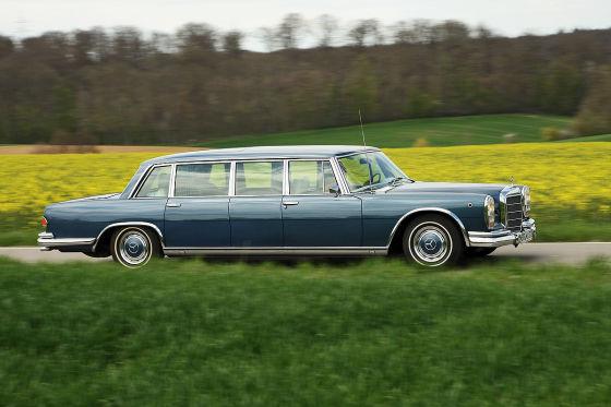Mercedes 600 Pullman W 100