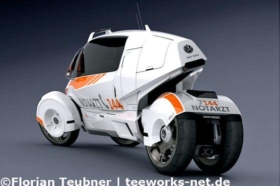 NEF Evo Rettungswagen-Konzept