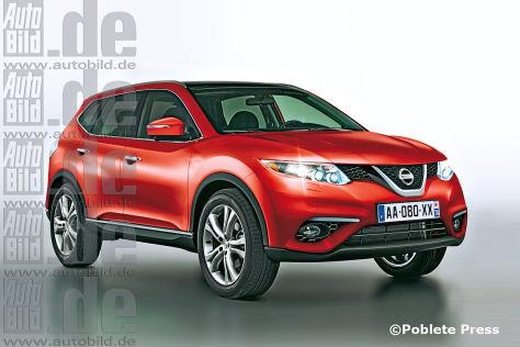 Nissan Qashqai/Renault SUV - autobild.de