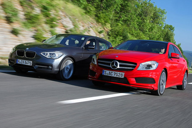 Video: BMW 125i/Mercedes A 250