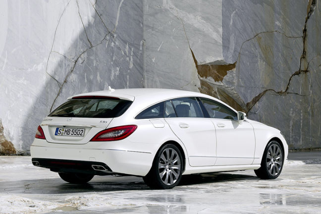 Video Mercedes Cls Shooting Brake Autobild De