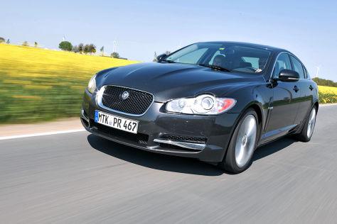 Jaguar Xf Im Auto Bild Dauertest Autobild De