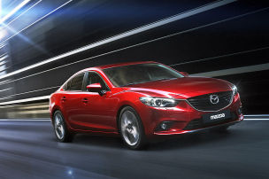 Neue Fotos vom Mazda6