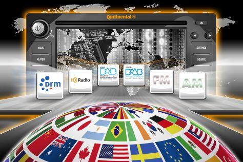 Continental Global Software Radio, Juli 2012