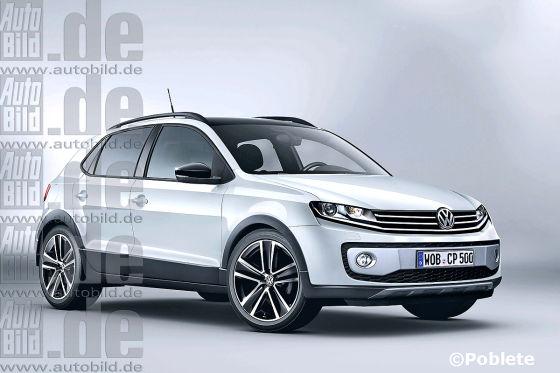 VW Polo-SUV Illustration
