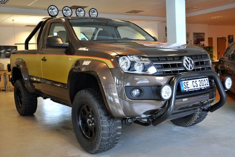 vw amarok edition cs pick up hommage an colt seavers. Black Bedroom Furniture Sets. Home Design Ideas