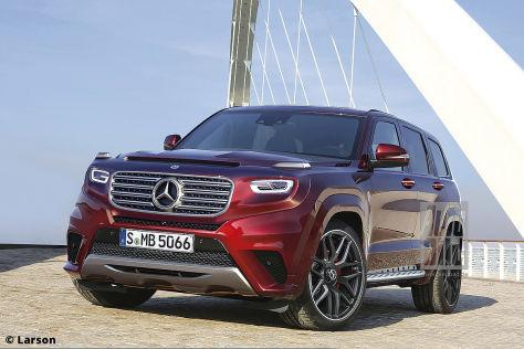 Mercedes GLG (2020): Vorschau - autobild.de