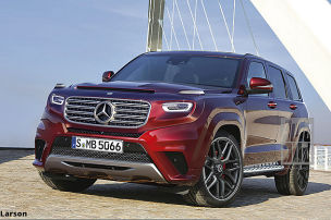 Mercedes plant GLE-Ableger